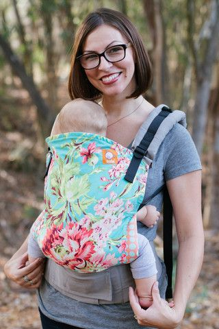 Tula Baby Carriers is the ultimate baby carrier. You will not need anything else, as you can use Tula to carry a newborns and a toddler, all the way till your child is about 4 year old.