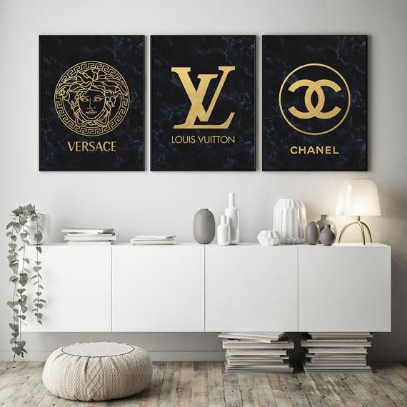 Fashion Wall Art Set Of 3 Fashion Prints After Purchase You Can