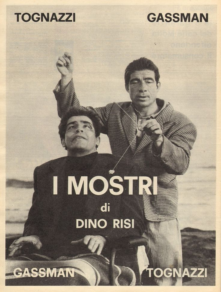 I mostri 1963 di Dino Risi con Ugo Tognazzi e Vittorio Gassmann