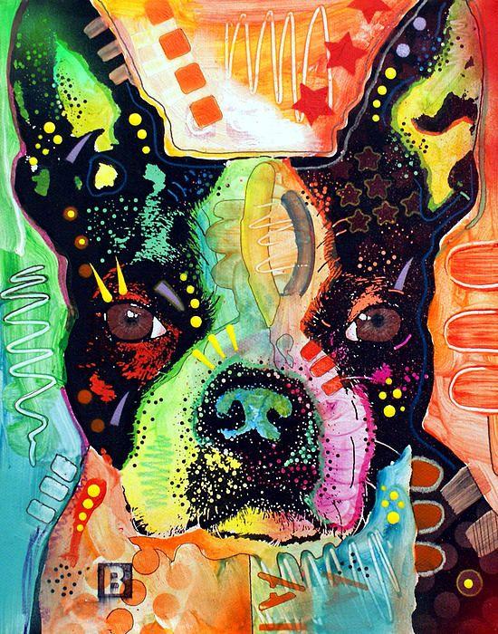 Dean Russo Boston Terrier