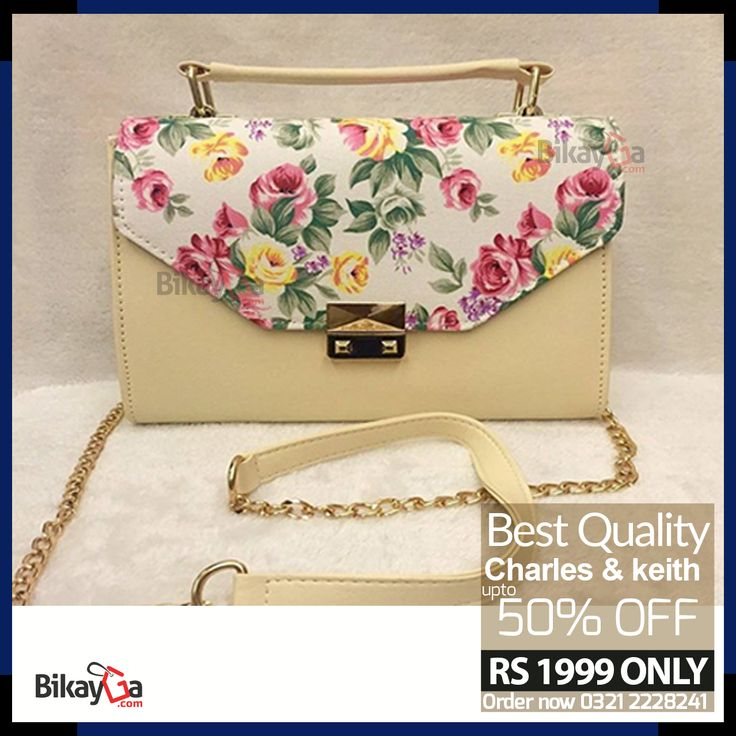 Charles & keith Long chain Bag 50% OFF Rs: 1999 : (Free Home Delivery) For Order Inbox / SMS / Text your details on 0321-2228241