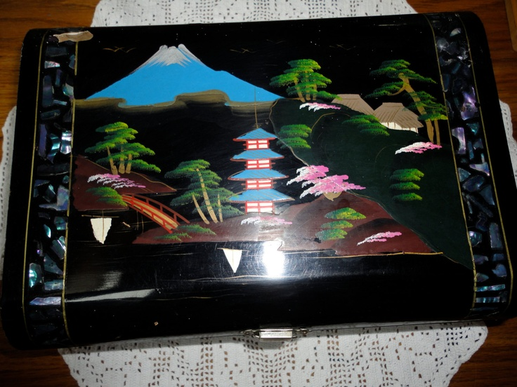 75 best Japanese Lacquer Jewelry Box images on Pinterest Japanese