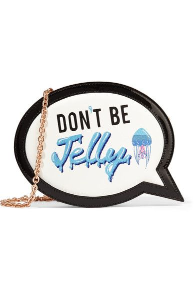 SOPHIA WEBSTER Speech Bubble embroidered leather clutch€475