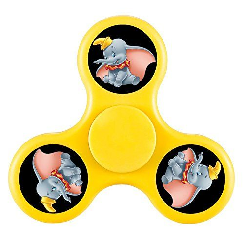Cheap price Betteer Miaia Disney Thanksgiving Easy Carrying Personalized Tri-Spinner High Speed Spin 3.9 OZ Yellow on sale
