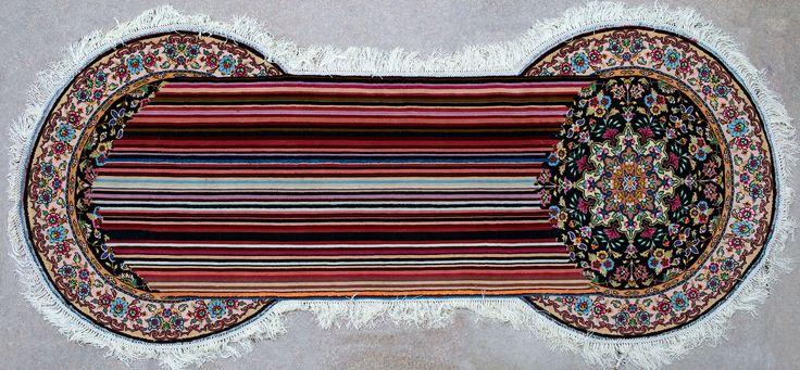 Faig Ahmed's Hand-Woven Azerbaijani Rugs   Yellowtrace