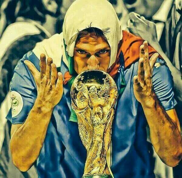 Francesco Totti - Coppa del mondo  2006 Daje Roma Daje