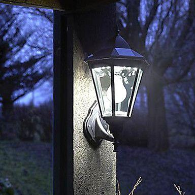 Old Fashion Glass Motion Sensor Light