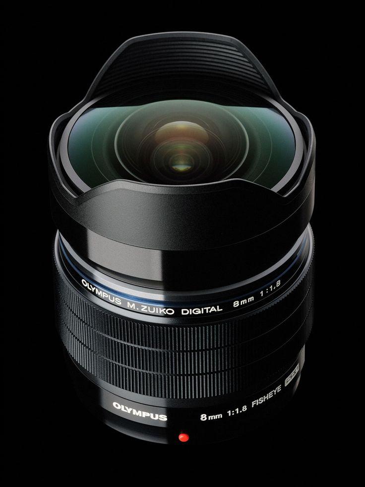 OLYMPUS präsentiert das weltweit lichtstärkste 8mm Fisheye-Objektiv