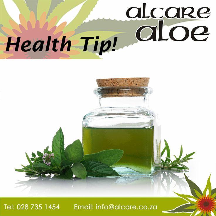Health Tip! Tame tension headaches by rubbing peppermint