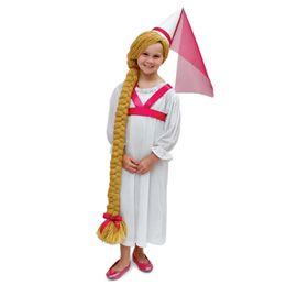 rapunzel: Costume For Kids, Creative Halloween Costumes, Rapunzel Costume, Costume Ideas, Homemade Halloween Costume, Rapunzel Hairs, Kids Crafts Costume, Halloween Costume Idea, Kids Costume