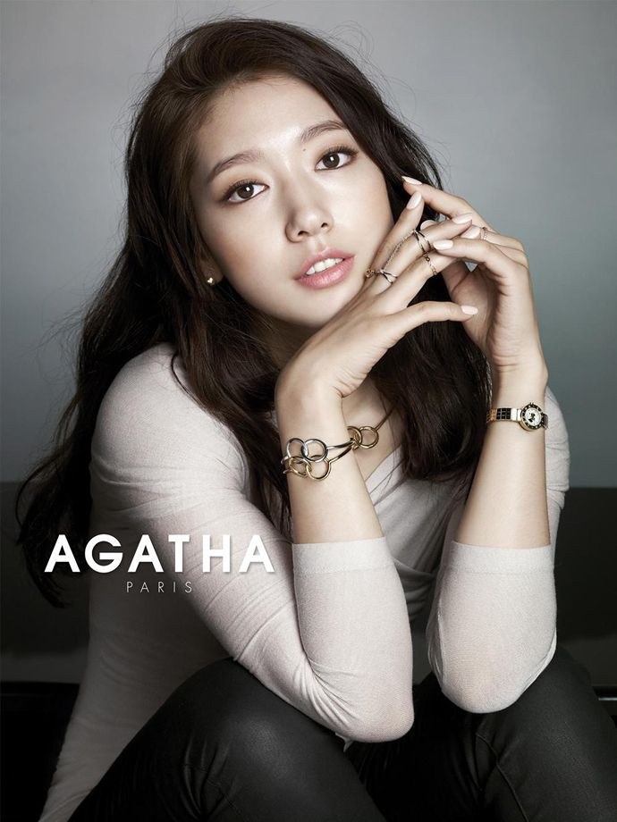 AGATHA PARIS Launches F/W 2014 Campaign Feat. New Muse Park Shin Hye | Couch Kimchi