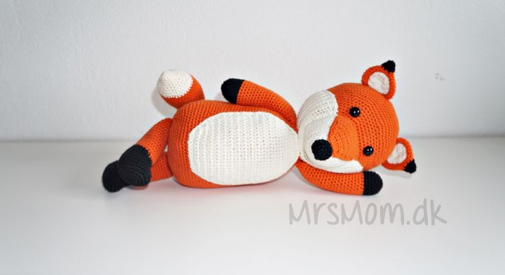 DIY: Mr Fox (hæklet)
