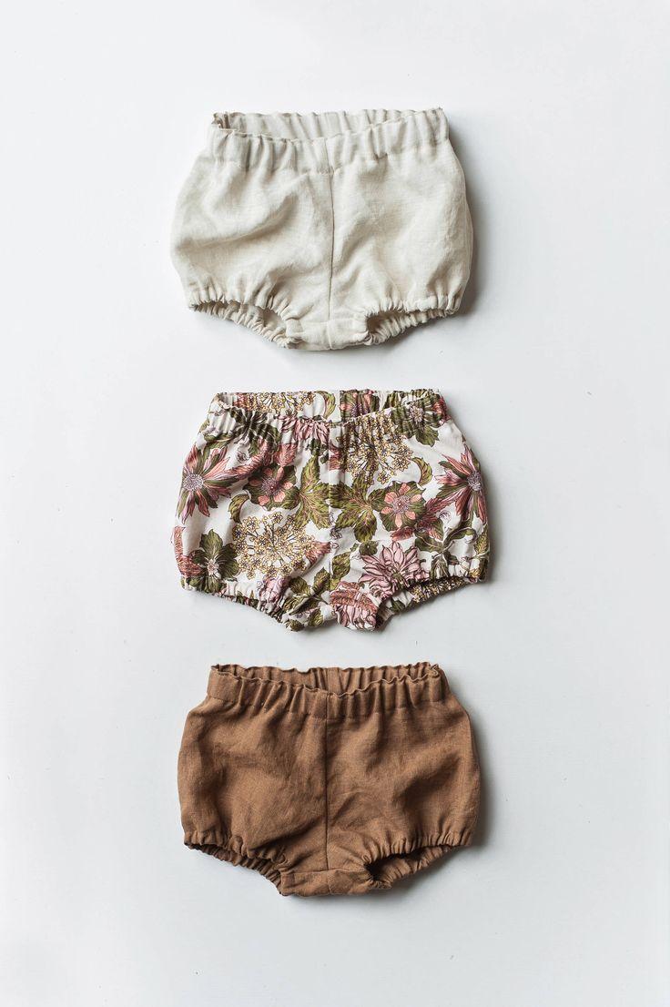Bloomers – Bubble Shorts – Lin Baby Bloomers – Le short pour bébé de Gypsyandfree ….   – nähen