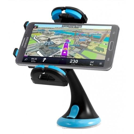 360° Swivel Padded Auto Smartphone Holder by Green Alien®