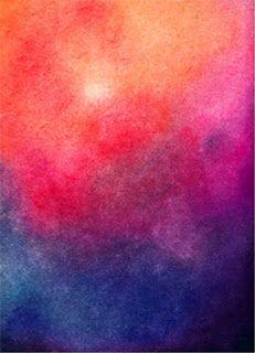 Education Joyeuse*: Aquarelle sur papier mouillé (Steiner-Waldorf)