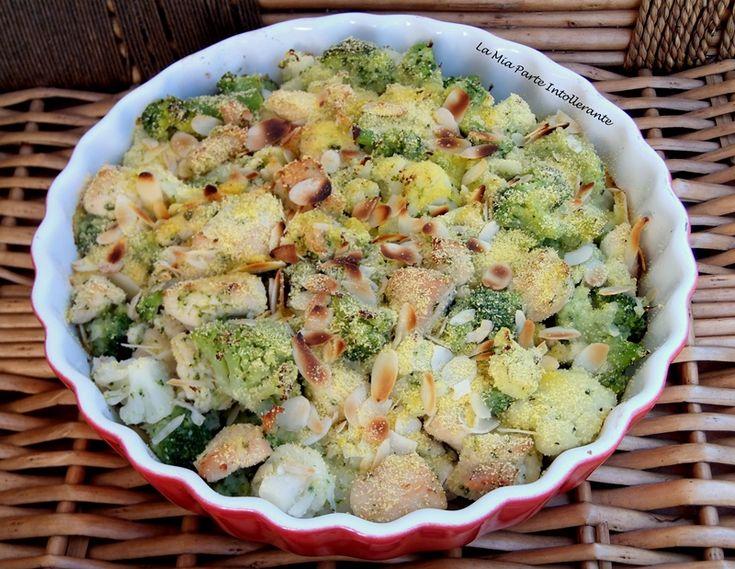 Pollo e broccoli croccanti