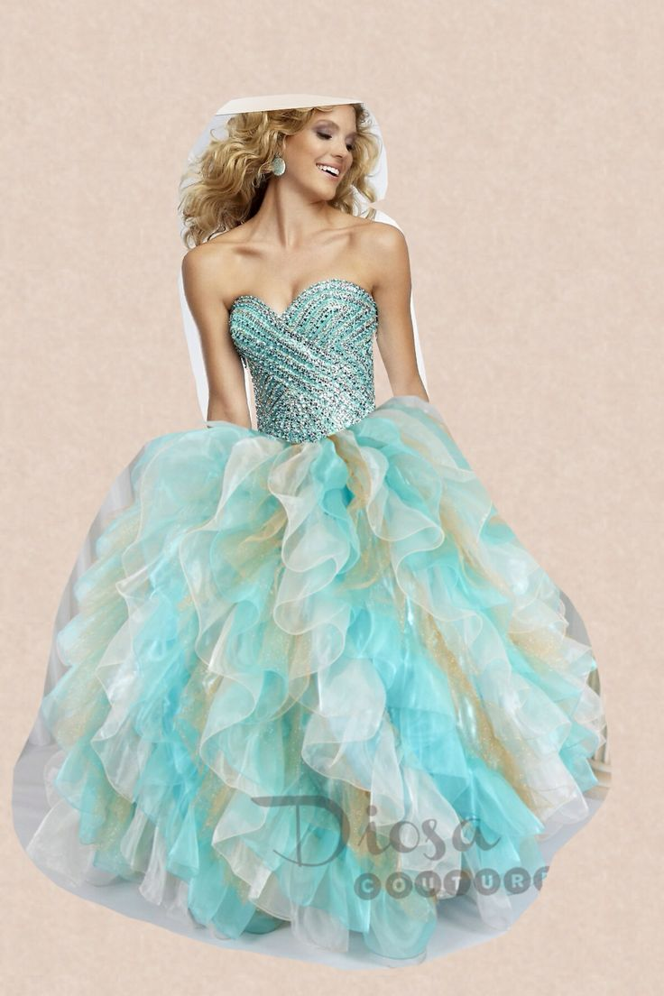 36 best My Sweet Sixteen images on Pinterest | Party wear dresses ...