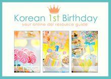 Korean 1st Birthday