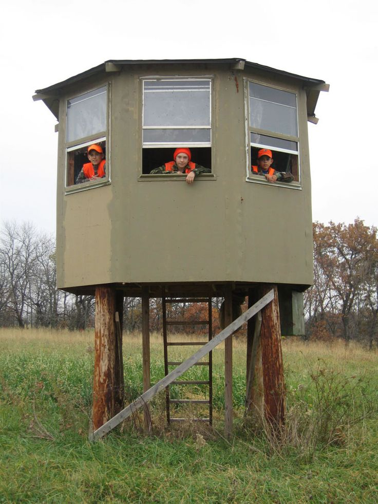 15 Must see Deer Hunting Blinds Pins Homemade deer blinds Deer