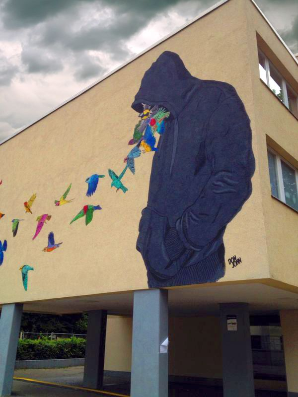 Don John - Urban Nation New Mural @ Berlin, Germany