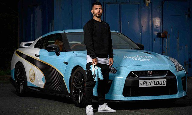 Man City striker Sergio Aguero releases unique derby boots