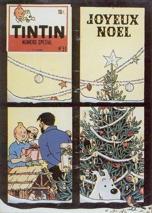 Tintin at Christmas