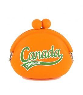 Orange Canada Jelly Coin Purse