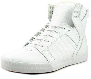 Supra Skytop Round Toe Leather Skate Shoe.