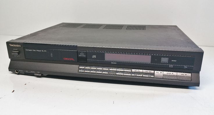 Vintage (Matsushita) Technics Cd Player SL-P2 For Parts Or Repair in Electronics, Home Audio Stereos, Components, CD Players & Recorders | eBay!