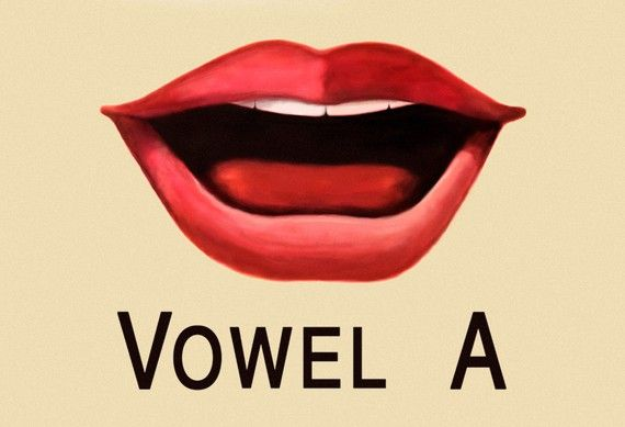 Vowel A Poster