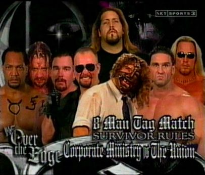 8 Men Tag Team Elimination Match at Over The Edge (1999)