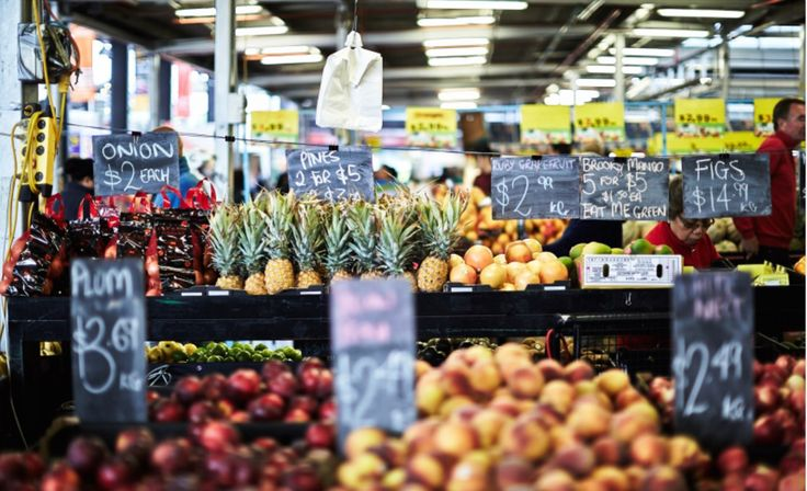 Spend your Saturday shopping for produce and your Sunday sifting for hidden treasure.