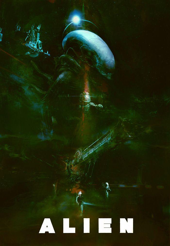 Alien by Christopher Shy