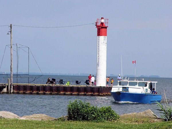 Port Rowan am Eriesee, Ontario