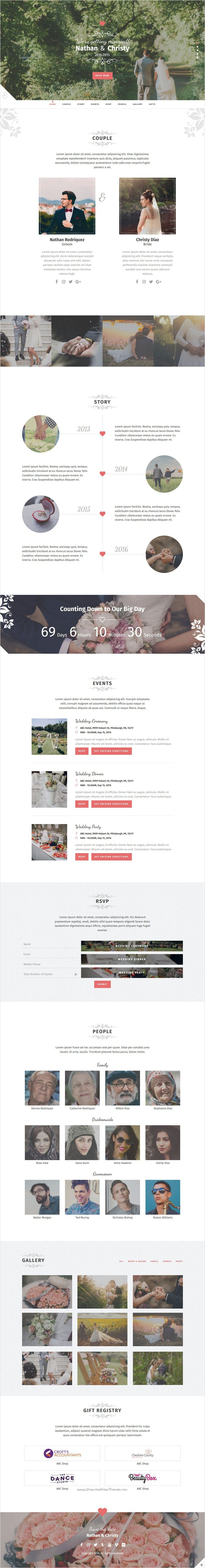 Best 25 invitation websites ideas on pinterest diy wedding big day a modern onepage wedding template invitation websitesbootstrap templatewedding templateswedding stopboris Image collections