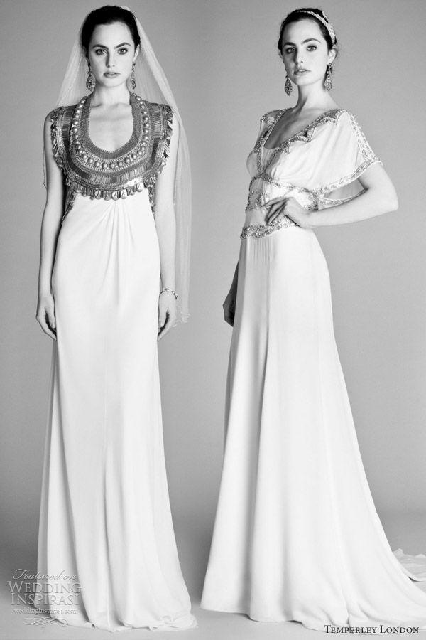 Temperley london spring 2012 wedding dresses ophelia for Alice temperley wedding dresses