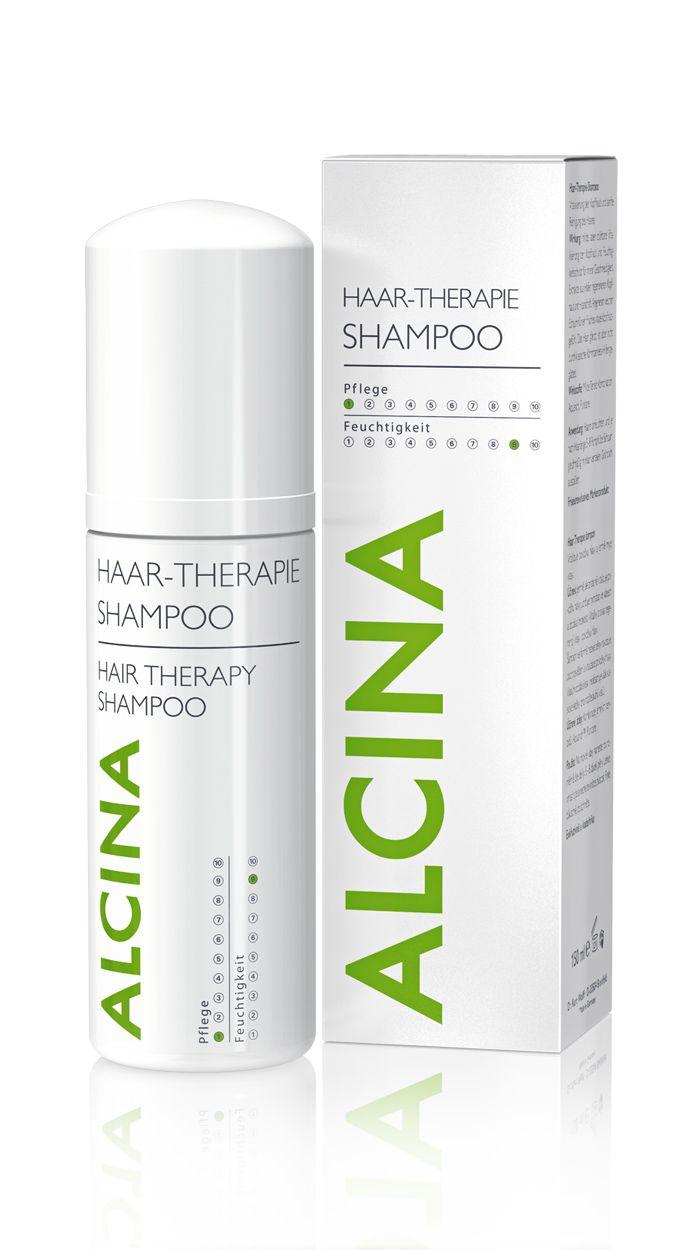 Haar-Therapie Shampoo Weicher Shampoo-Schaum für sanfte Reinigung. Kombiniert sanfte Reinigung und kräftigende Pflege. Extrakte aus Hafer und Moringa-Baum stärken schwaches, kraftloses Haar.