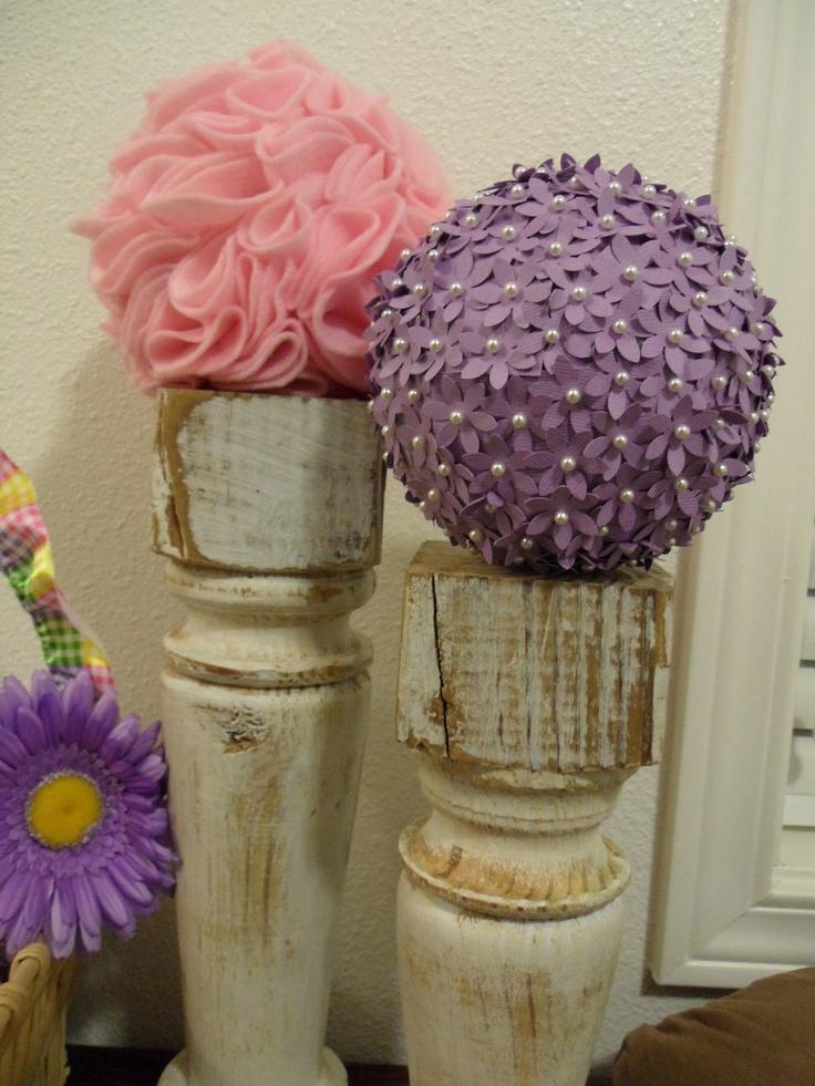 70 best styrofoam images on pinterest diy flowers paper for Crafts with styrofoam balls for kids