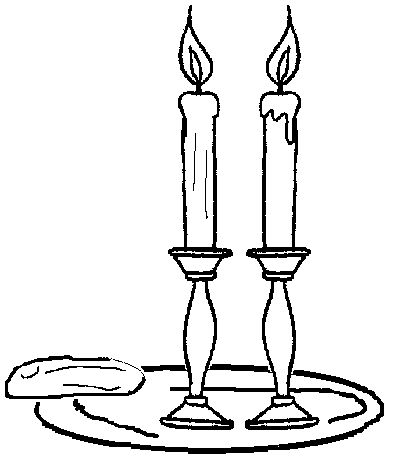 image result for shabbat coloring page