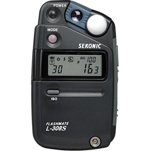 Sekonic L-308S Flashmate Light Meter 401-309 B&H Photo Video | B&H Photo Video