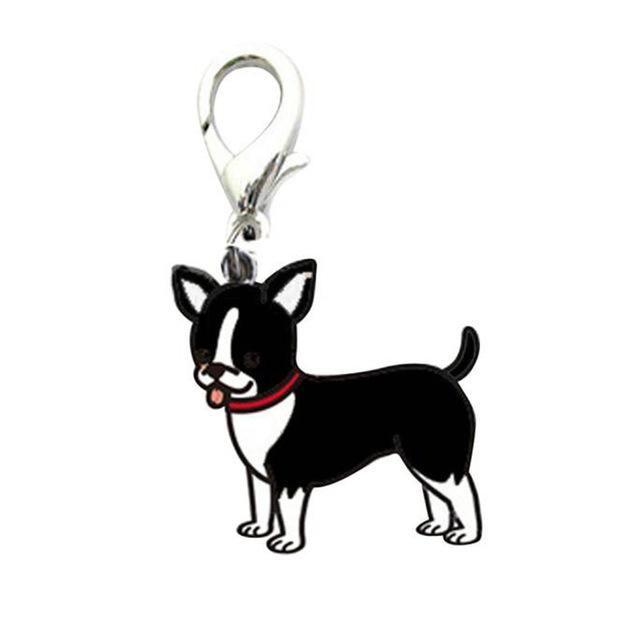 Dog Breed Collar Charm