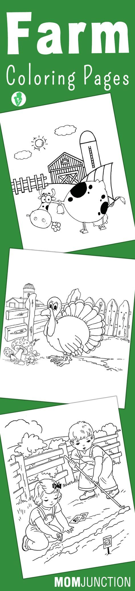 Best 20 Farm coloring pages ideas on Pinterest Kids pictures to