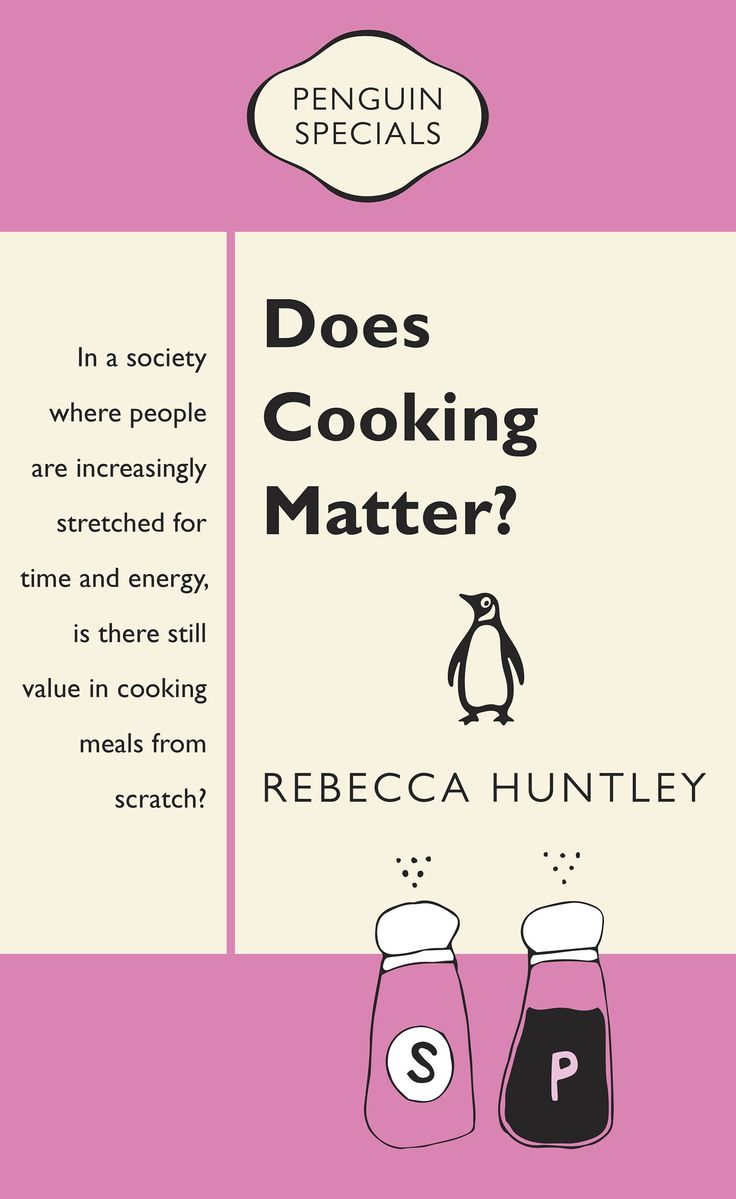 Does Cooking Matter? By Rebecca Huntley.