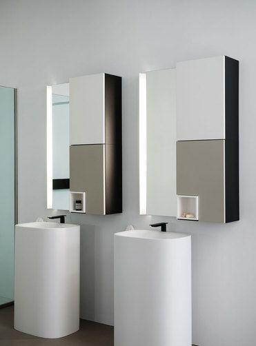 Lavabi freestanding e mobiletti specchio