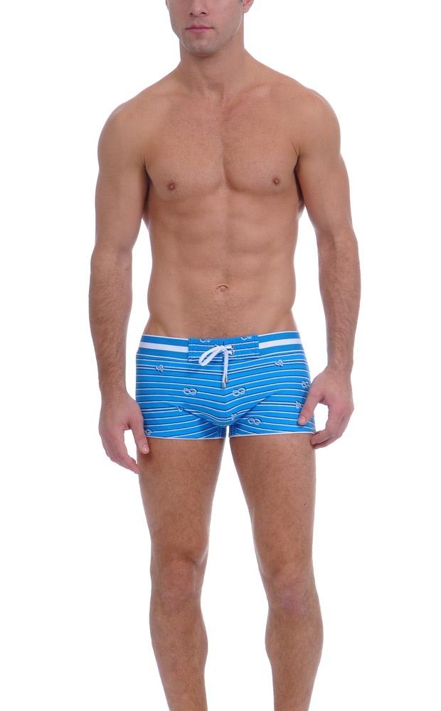 NAUTICAL KNOT Cabo Swim Trunk : Mens Swim Trunks & Swimwear | 2(X)IST ($85)