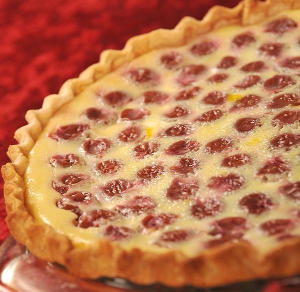 cherry custard pie recipe | Lehigh Valley Recipes: Elaine Harrier's Sour Cherry Cheese Custard Pie ...