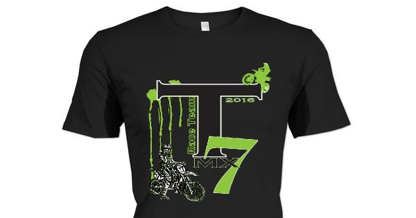 Check out this awesome T7 RaceTeam / Tanner Smith MX 2016 shirt!