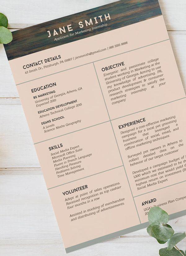 Free Cv Resume Templates Freebies Graphic Design Junction Resume Template Free Cv Resume Template Resume Templates