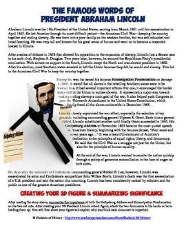 abraham lincoln gettysburg address pdf