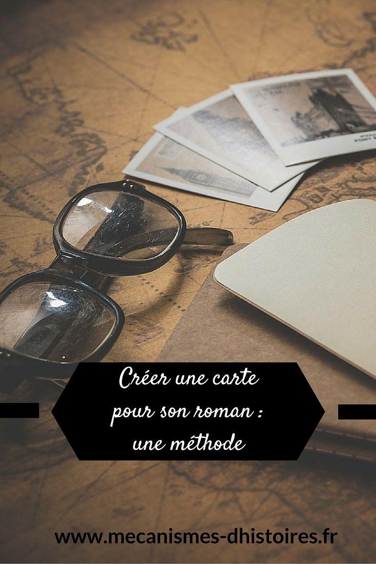 Créer une carte pour son roman : une méthode en 5 étapes.